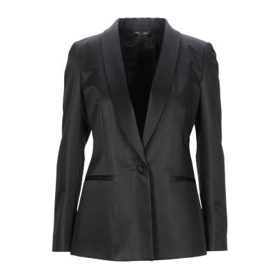 ブライアン デールズ BRIAN DALES テーラードジャケット ブラック 44 アクリル 90% / ポリエステル 5% / ナイロン 5% テ