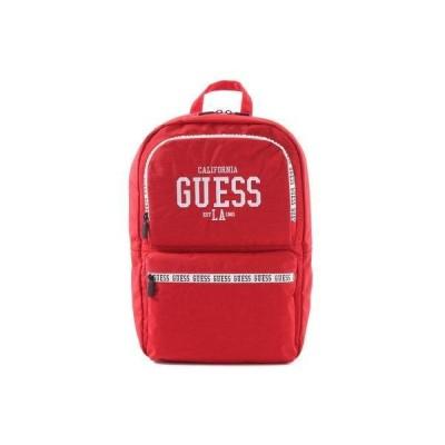ゲス GUESS CAMPUS Nylon Backpack (RED)