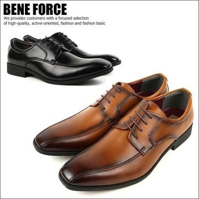 BENE FORCE ビジネスシューズ スワローモカシン メンズ 8111 【Y_KO】【SHA】■180401