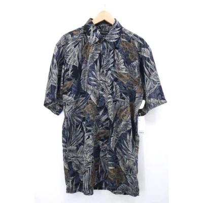 ユーズドフルギ USED古着 SERGIO LOUIS 総柄ボタンダウンシャツ メンズ  中古 210507