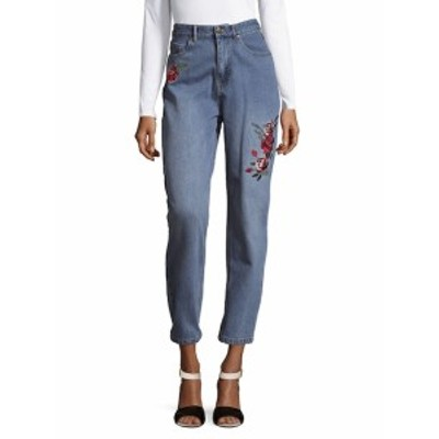 ミンクピンク レディース パンツ デニム Rose Scando Cotton Jeans