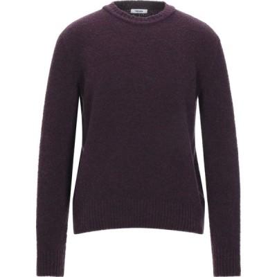 トレビアン TRES BIEN メンズ ニット・セーター トップス sweater Deep purple