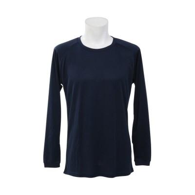 【販売主:スポーツオーソリティ】 エスエーギア/メンズ/長袖丸首ベーシックアンダーシャツ メンズ ネイビー XO SPORTS AUTHORITY