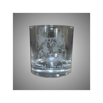 箱無)深彫り名入れロックグラス。バレンタイン・ホワイトデー・誕生日・その他記念日のプレゼントや、自分へのご褒美いかがですか。