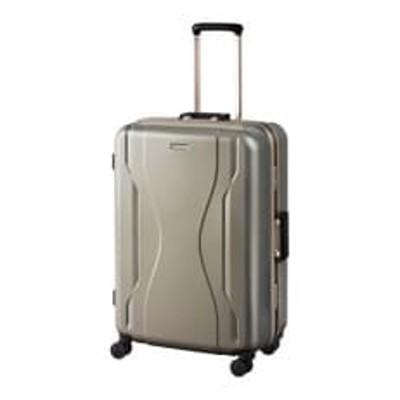 日本製スーツケース WT コヴァーラム 73L (ゴールド) 06582-13