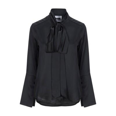 DIMORA シャツ ブラック 42 レーヨン 100% / ポリエステル シャツ