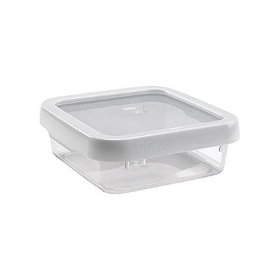 OXO Good Grips LockTop 30-2/5-Ounce Square Container with White Lid