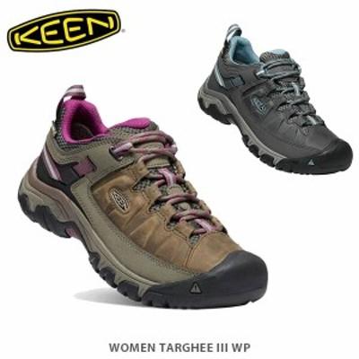 送料無料 KEEN キーン トレッキングシューズ 登山靴 レディース ターギー スリー ウォータープルーフ WOMEN TARGHEE III WP KEE0384 国内
