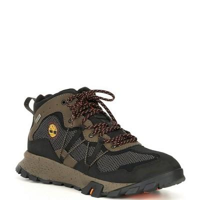 ティンバーランド メンズ ブーツ・レインブーツ シューズ Men's Garrison Trail Waterproof Mid Fabric Hikers