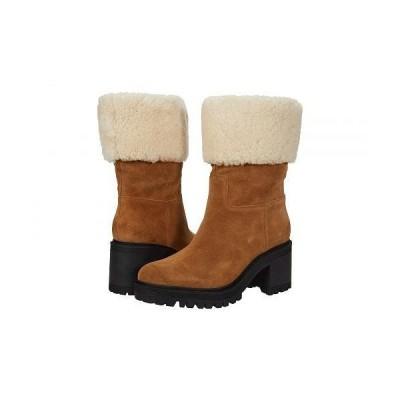 Marc Fisher LTD マークフィッシャーリミテッド レディース 女性用 シューズ 靴 ブーツ アンクル ショートブーツ Willoe - Medium Natural Suede