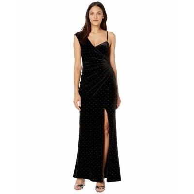ビーシービージーマックスアズリア ワンピース トップス レディース Velvet Gown with Studs Black