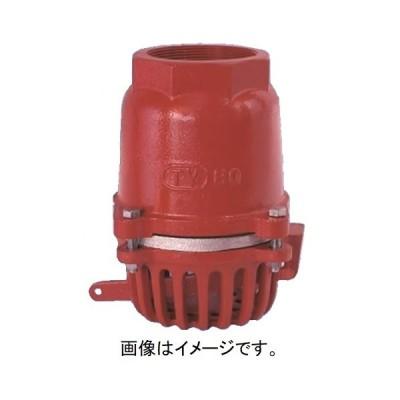大阪継手バルブ製作所:フートバルブ オール鋳鉄片開式 捻込型レバー付 型式:FC373050(TV-15-50)