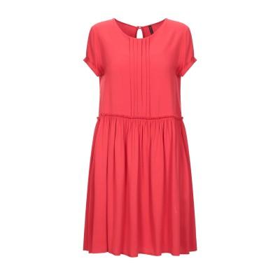 マニラ グレース MANILA GRACE ミニワンピース&ドレス レッド 40 レーヨン 100% ミニワンピース&ドレス