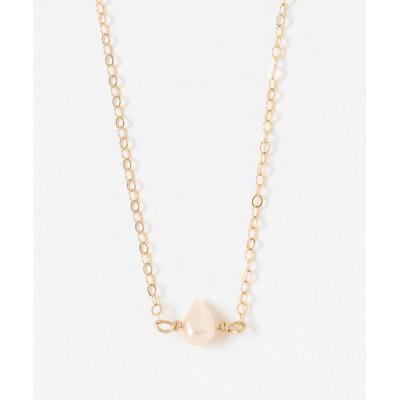 ネックレス 【Serenite Jewelbox】one fresh water pearl necklace
