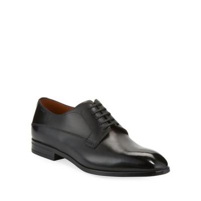 バリー メンズ スリッポン・ローファー シューズ Lantel Classic Leather Derby Shoe