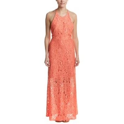 ハッチ レディース ワンピース トップス Hutch Maxi Dress coral
