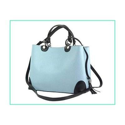 LaGaksta Madeline Top Handle Shoulder Handbag (Light Blue)並行輸入品