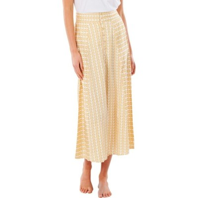 リップカール RIP CURL レディース ひざ丈スカート スカート Geo Print Midi Skirt Gold