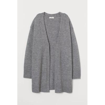 H&M - ロングカーディガン - グレー
