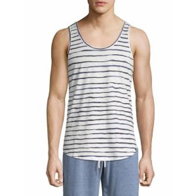 スレッズ フォー スレッズ Men Clothing Cotton Stripe Tank