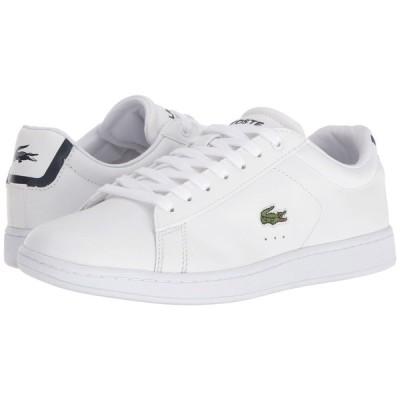 ラコステ レディース スニーカー シューズ・靴 Carnaby EVO BL 1 White