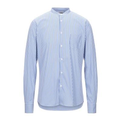 アリーニ AGLINI シャツ ブルー 41 コットン 74% / ナイロン 23% / ポリウレタン 3% シャツ
