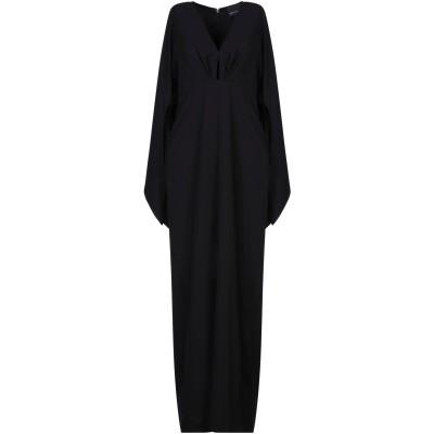 MARC ELLIS ロングワンピース&ドレス ブラック S ポリエステル 95% / ポリウレタン 5% ロングワンピース&ドレス