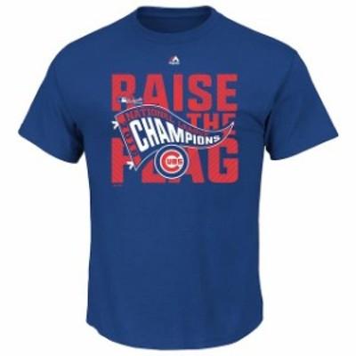 Majestic マジェスティック スポーツ用品  Majestic Chicago Cubs Royal 2016 National League Champions Big & Tall Lock