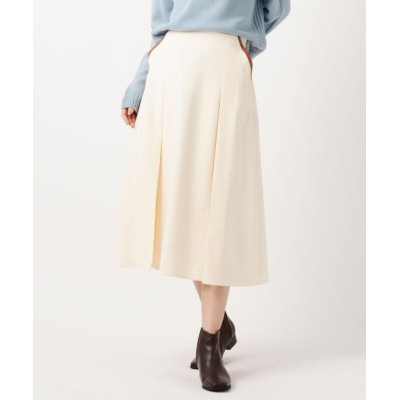 【ザ ショップ ティーケー】 配色パイピングスカート レディース オフホワイト 13(L) THE SHOP TK