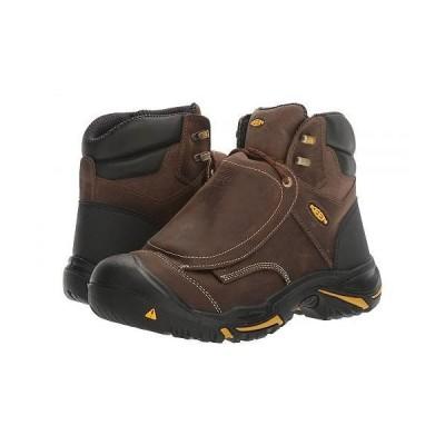 Keen Utility キーン メンズ 男性用 シューズ 靴 ブーツ ワークブーツ Mt. Vernon Met - Cascade Brown/Tawney Olive
