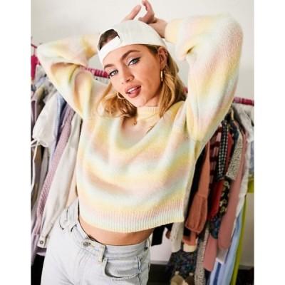 ビービーダコタ レディース ニット・セーター アウター BB Dakota pastel ombre sweater in pastel