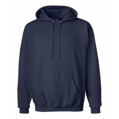Hanes  ファッション トップス Hanes Mens 9.7 oz. Cotton 90/10 Pullover Hood F170 S-3XL