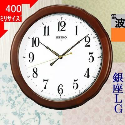 掛時計 セイコー(SEIKO) 電波時計 丸形 ブラウン/ホワイト色 2111YKX326B