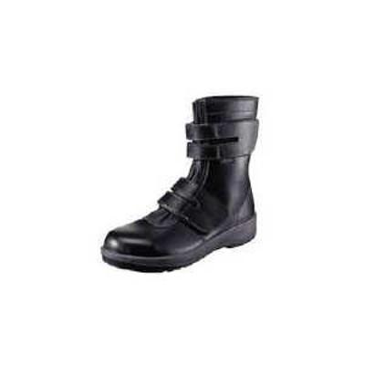 シモン 安全靴 長編上靴 7538黒 23.5cm