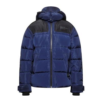 ディーゼル DIESEL ダウンジャケット ブルー M ポリエステル 100% / アクリル / ポリウレタン ダウンジャケット