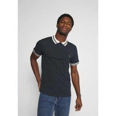 ファーラー ポロシャツ メンズ トップス STANTON POLO - Polo shirt - true navy