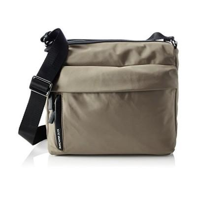 Mandarina Duck Women's Hunter Tracolla Shoulder Bag 13.5 x 24 x 29 cm Beige Size: One size 並行輸入品