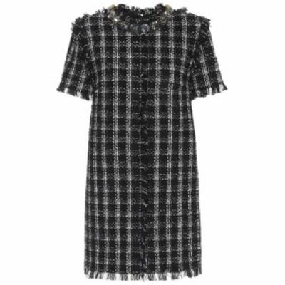 エムエスジーエム MSGM レディース ワンピース ワンピース・ドレス Cotton-blend tweed dress