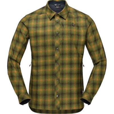 ノローナ メンズ シャツ トップス Norrona Men's Tamok Wool Shirt