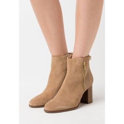 アンナフィールド ブーツ&レインブーツ レディース シューズ LEATHER - Classic ankle boots - beige