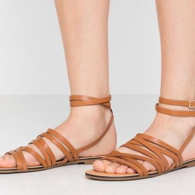 レディース サンダル TIA - Sandals - saddle