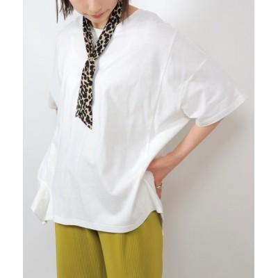 tシャツ Tシャツ グレイセルルーズアシメプルオーバー