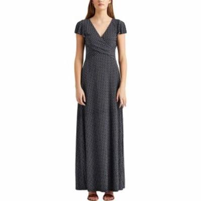 ラルフ ローレン LAUREN Ralph Lauren レディース ワンピース ワンピース・ドレス Print Jersey Dress Lighthouse Navy/Colonial Cream