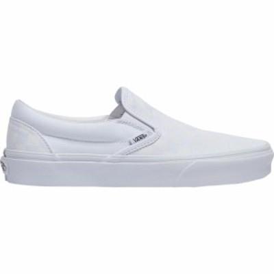 ヴァンズ Vans メンズ スケートボード スリッポン シューズ・靴 Checkerboard Classic Slip On True White/True White