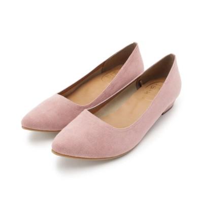 (pink adobe/ピンクアドベ)<日本製・新色追加>やわ楽パンプス(WEB限定サイズ・カラーあり)/レディース ピーチピンク(071)