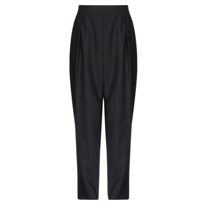 MALAIKA RAISS パンツ ブラック S バージンウール 100% パンツ