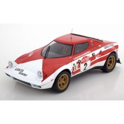 Triple9 1:18 1975年サンレモラリー優勝モデル ランチア ストラトス HF No.2 「Marlboro」デカール付き
