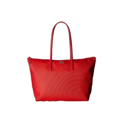 ラコステ ハンドバッグ バッグ レディース L.12.12 Concept Large Shopping Bag High Risk Red