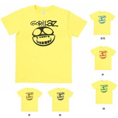 音楽・バンド・ロック・シネマ  Tシャツ GORILLAZ イエロー