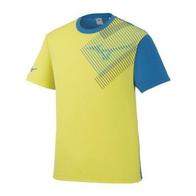 [ミズノ] 2020限定Tシャツ[ユニセックス] レモンイエロー